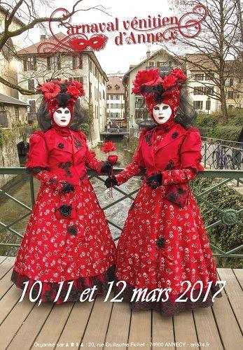 Carnaval vénicien à Annecy