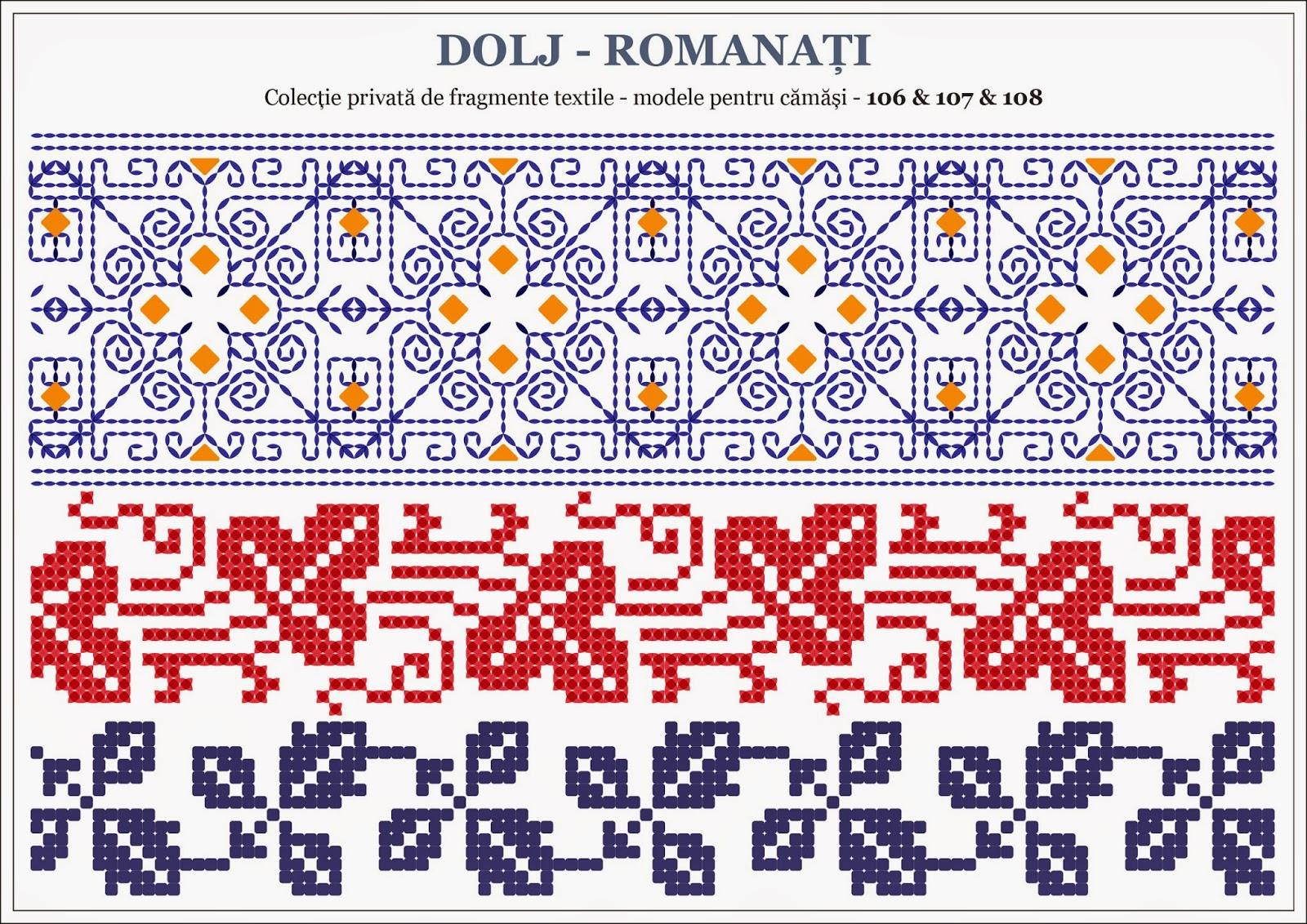 Semne cusute decembrie 2014 - Beautiful romanian folk motifs ...