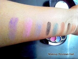 Makeup Eyeshadow Swatches