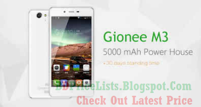 Gionee Marathon M3 ANDROID MobileFull Specifications And Price in Bangladesh BD