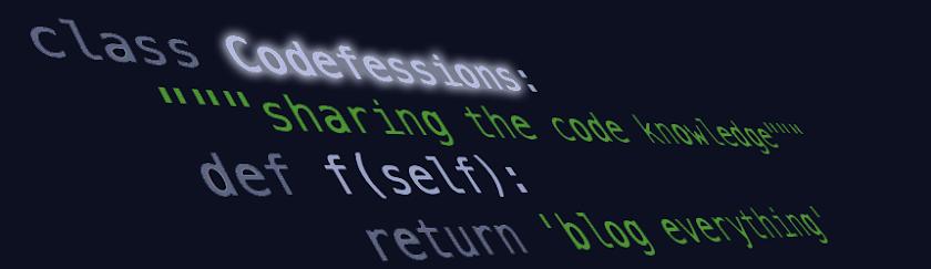 Codefessions