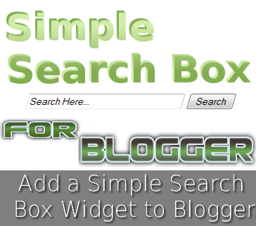 How to Add Custom Search Box for Blogger? - YouTube