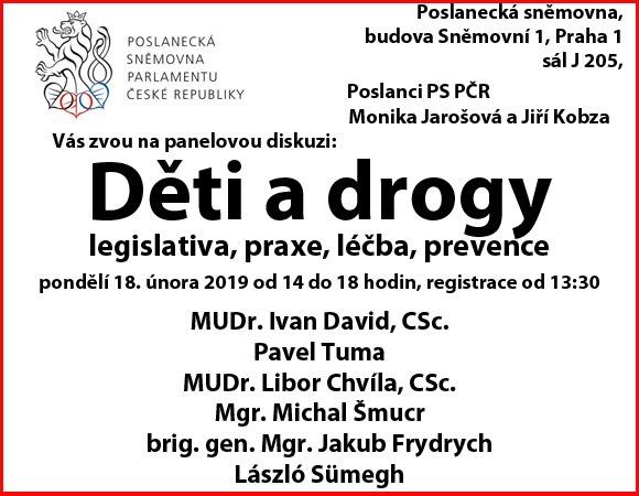 Panelová diskuse 18. 2. 2019 14.00