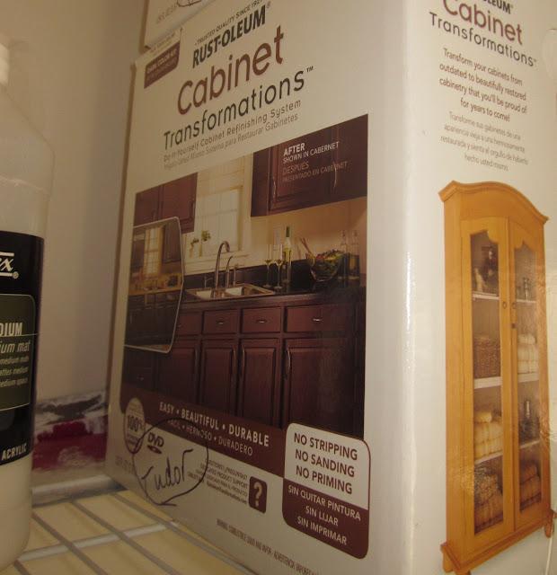 Rustoleum Cabinet Transformations Bond Coat Paint Type