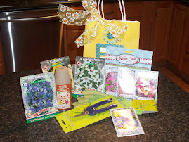 floral bag of goodies!