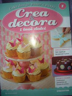 rivista cake design collaborazione deagostini