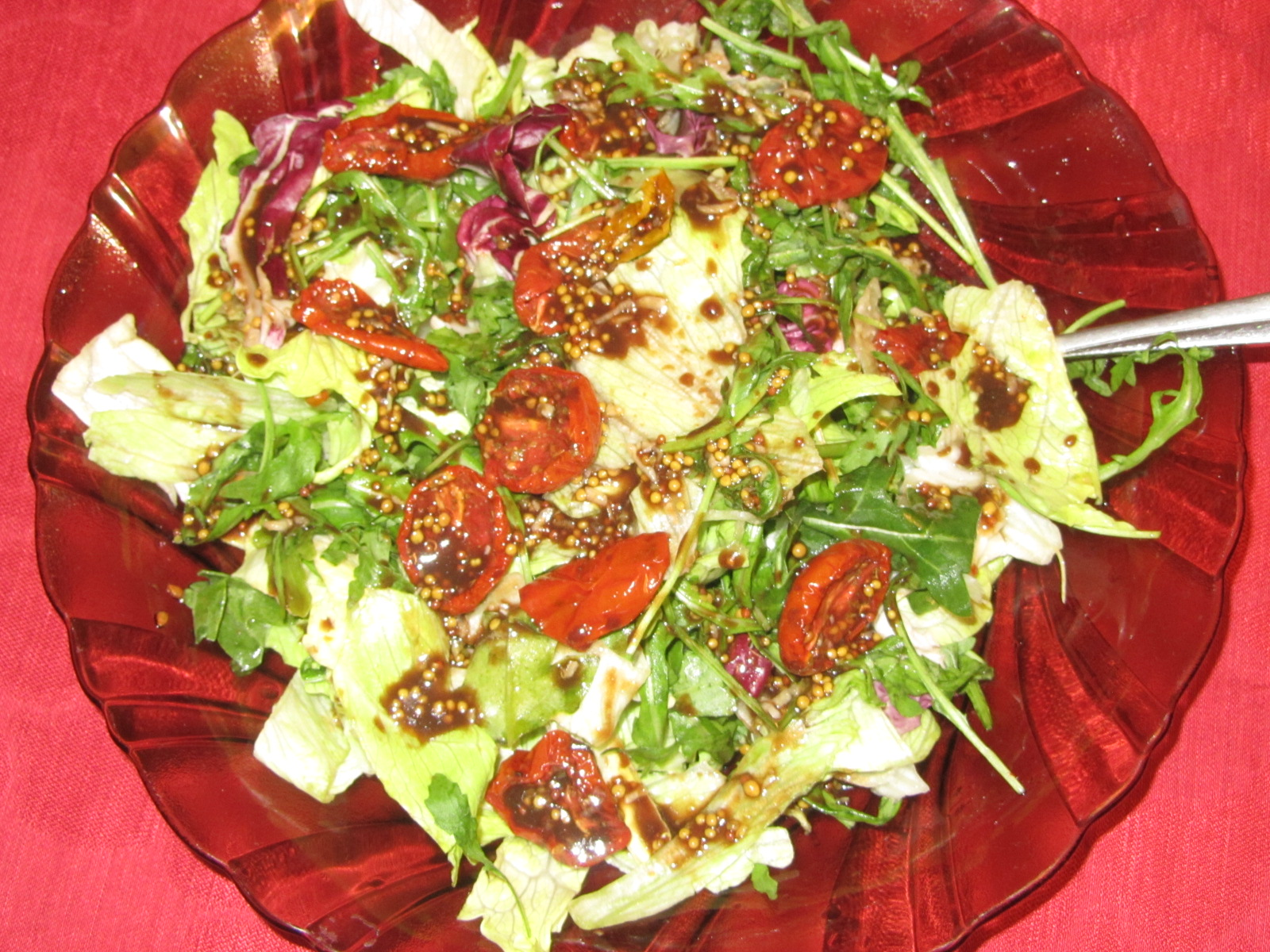 Салат с маслом рецепт с