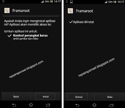 nstall aplikasi framaroot 1 9 2 apk buka aplikasi framaroot