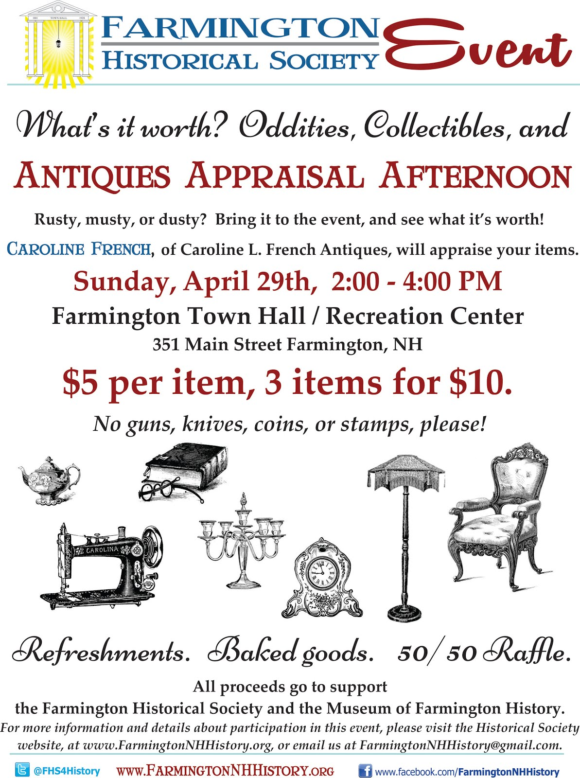 Antiques Appraisal Afternoon
