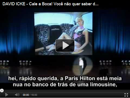 David Icke - Cale a Boca! Voc no quer saber disto!