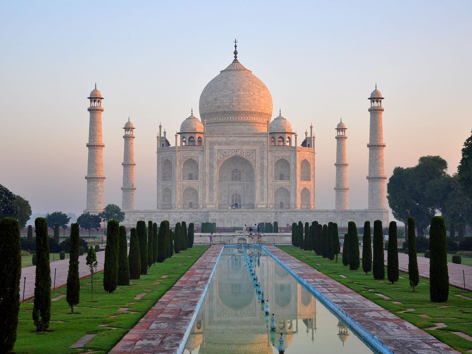 Seconde Vue Agra Et Son Taj Mahal