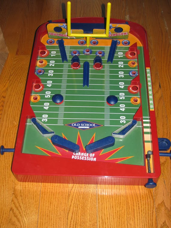 Football Pinball Game from ABC Vintage.