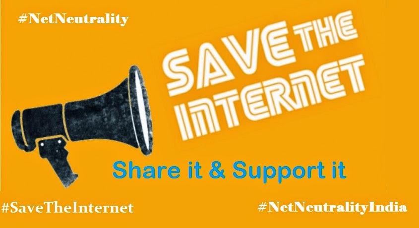 'Net Neutrality', Save The Internet, Net NeutralityIndia,