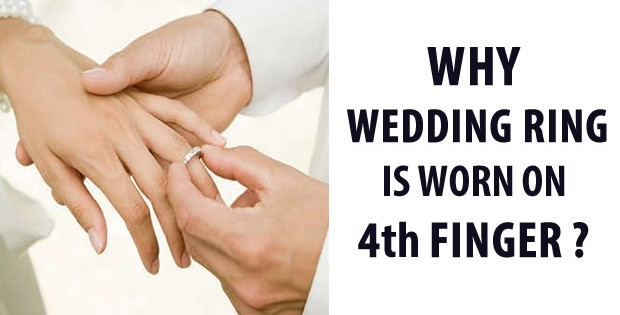 Ever wondered why wedding ring is worn on 4th finger heres why junglespirit