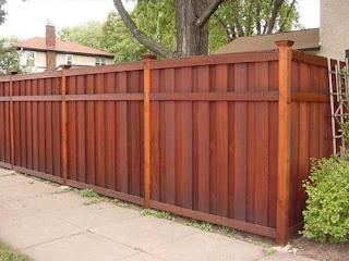 Деревянный забор. Фото 60