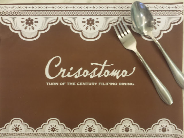 Crisostomo - Filipino Dining Restaurant