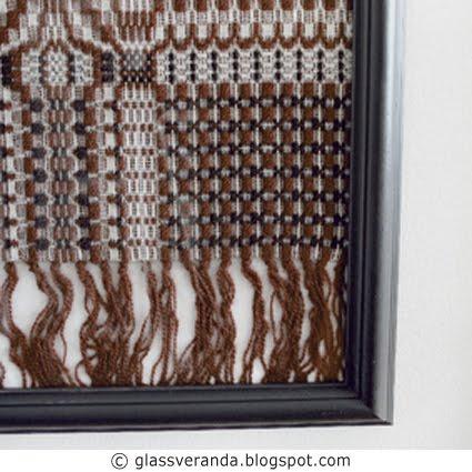 Innrammede tekstiler