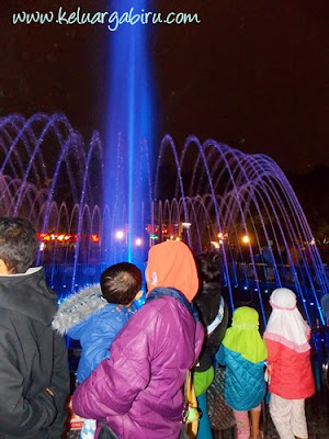 Fountain Dance Alun-Alun Malang