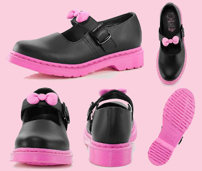 Hello Kitty Dr Martens Mary Janes