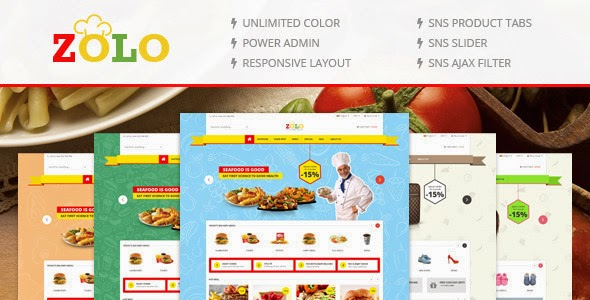 New Responsive Multipurpose Magento Theme