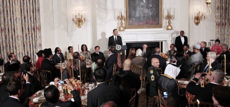 Majlis berbuka puasa di White House