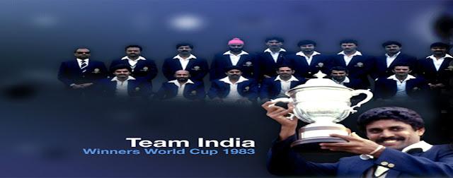 ICC World cup Winner 1983