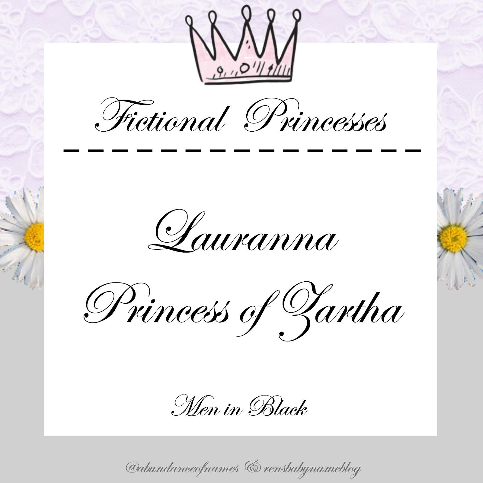 Ren's Baby Name Blog: Non-Disney Fictional Princesses