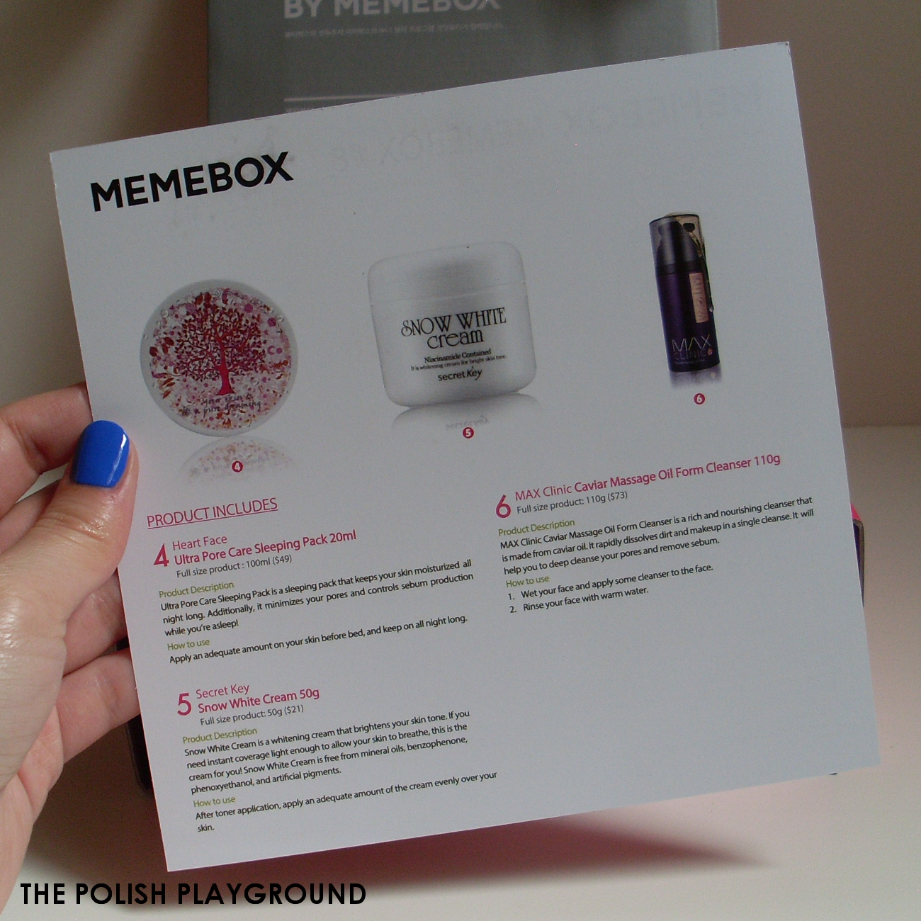Memebox #8 Unboxing