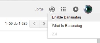 ativar o bananatag
