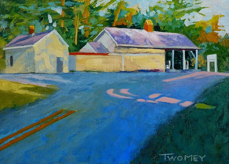 Earlysville General Country Store, oil by Twomey