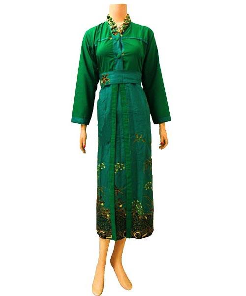 Dress Gamis Batik Dbg160  Butik Batik Solo
