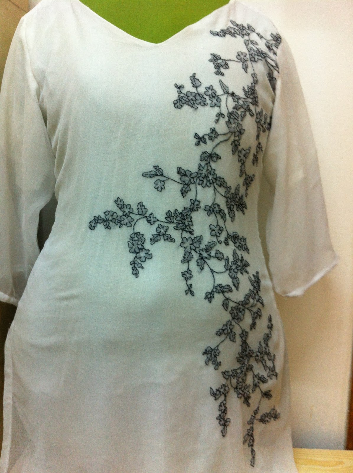 Sew simple dress shadow work tunic