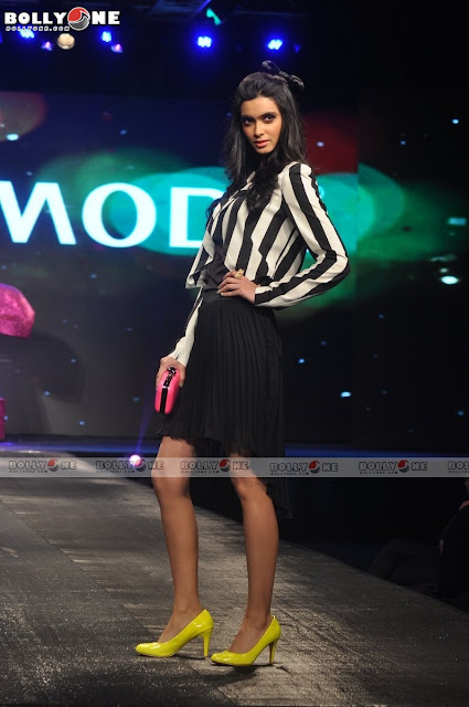 Diana Penty Ramp Walk Allure Fashion Show Hot Celebrities All Over