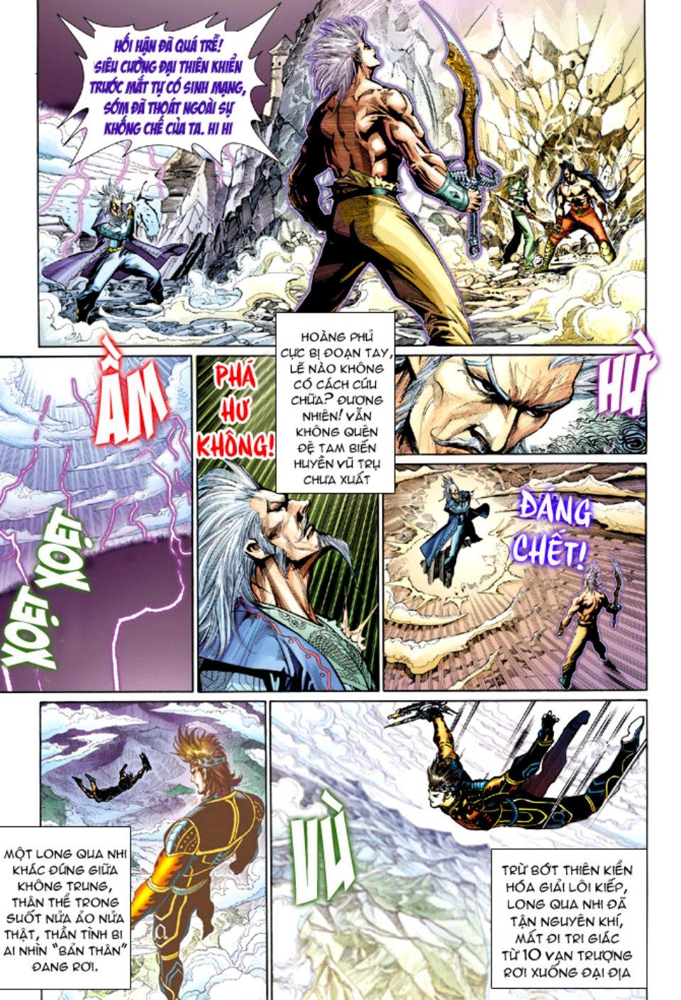 Thiên Tử Truyền Kỳ 5 - Như Lai Thần Chưởng chap 214 - Trang 11