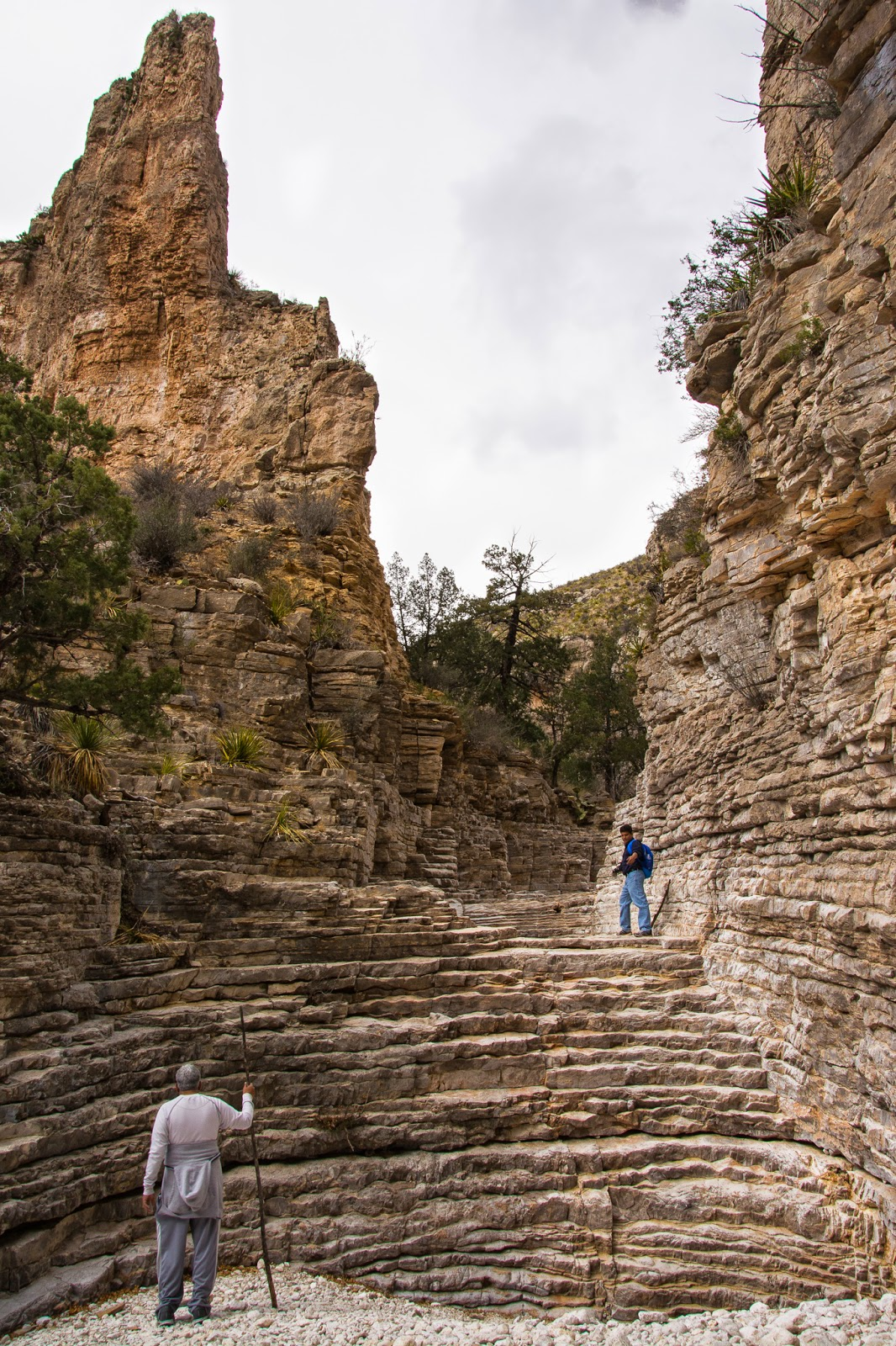 Hiker's Staircase, Guadalupe Mountains National Park