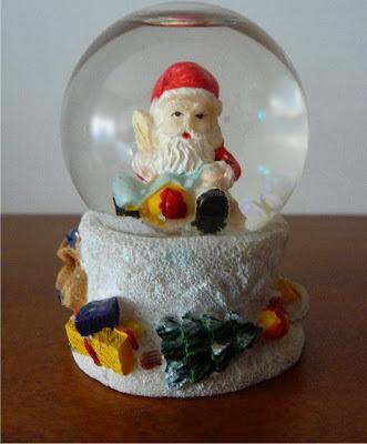 Snowglobe, Palla di nve, Boule a Neige, Santa Claus
