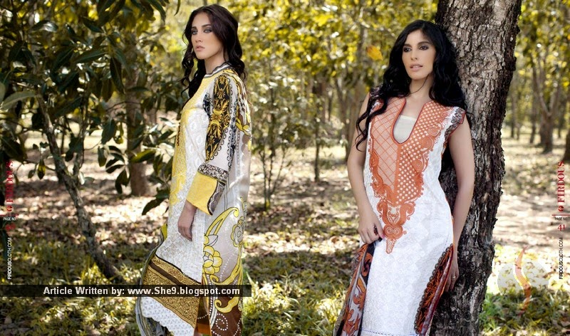 Firdous Summer Carnival 3-PC Collection 2015