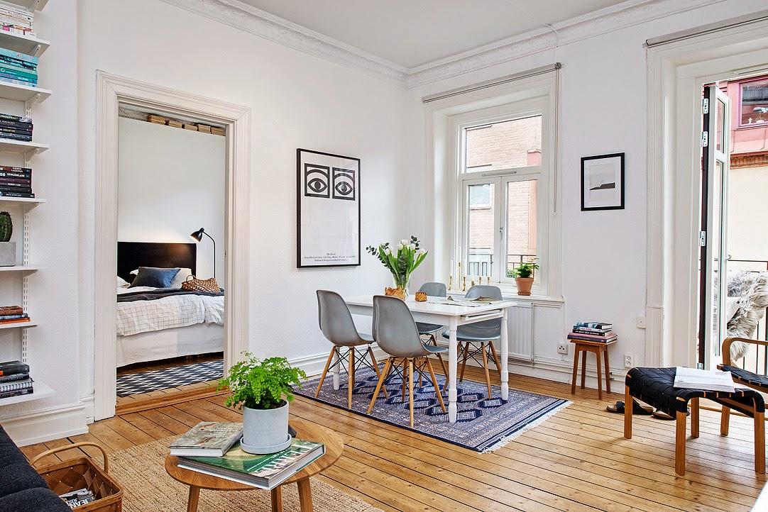Mesas de comedor sillas de estilo nordico para el comedor for Comedor escandinavo