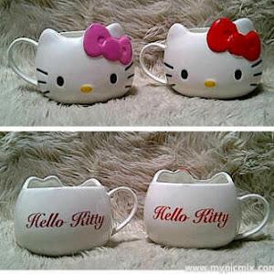 Gelas / Mug Hello kitty