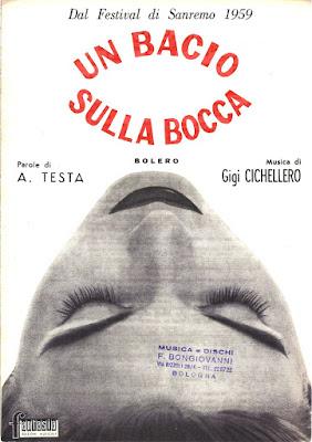 Sanremo 1959 - Betty Curtis - Un Bacio Sulla Bocca
