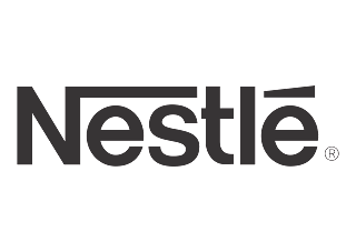 Nestle (Design Black White) Logo Vector