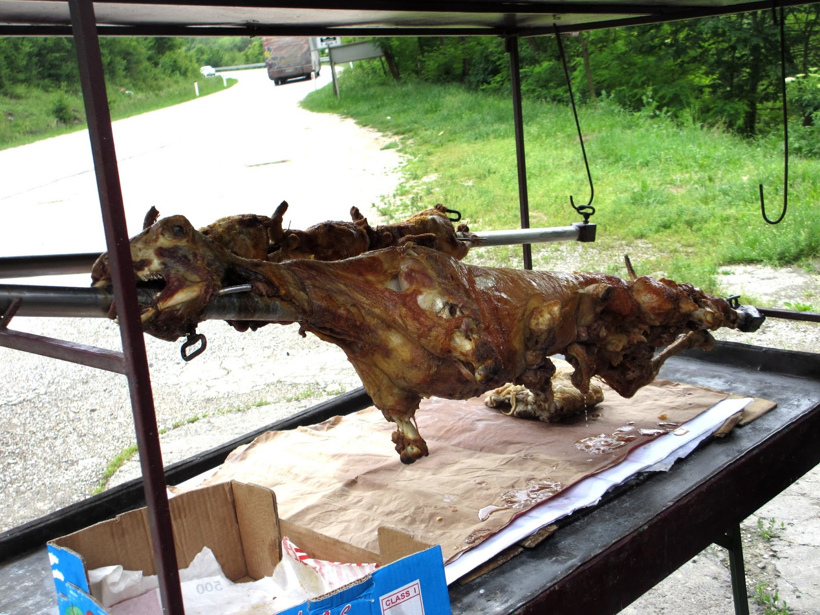 how to cook a spit roast lamb