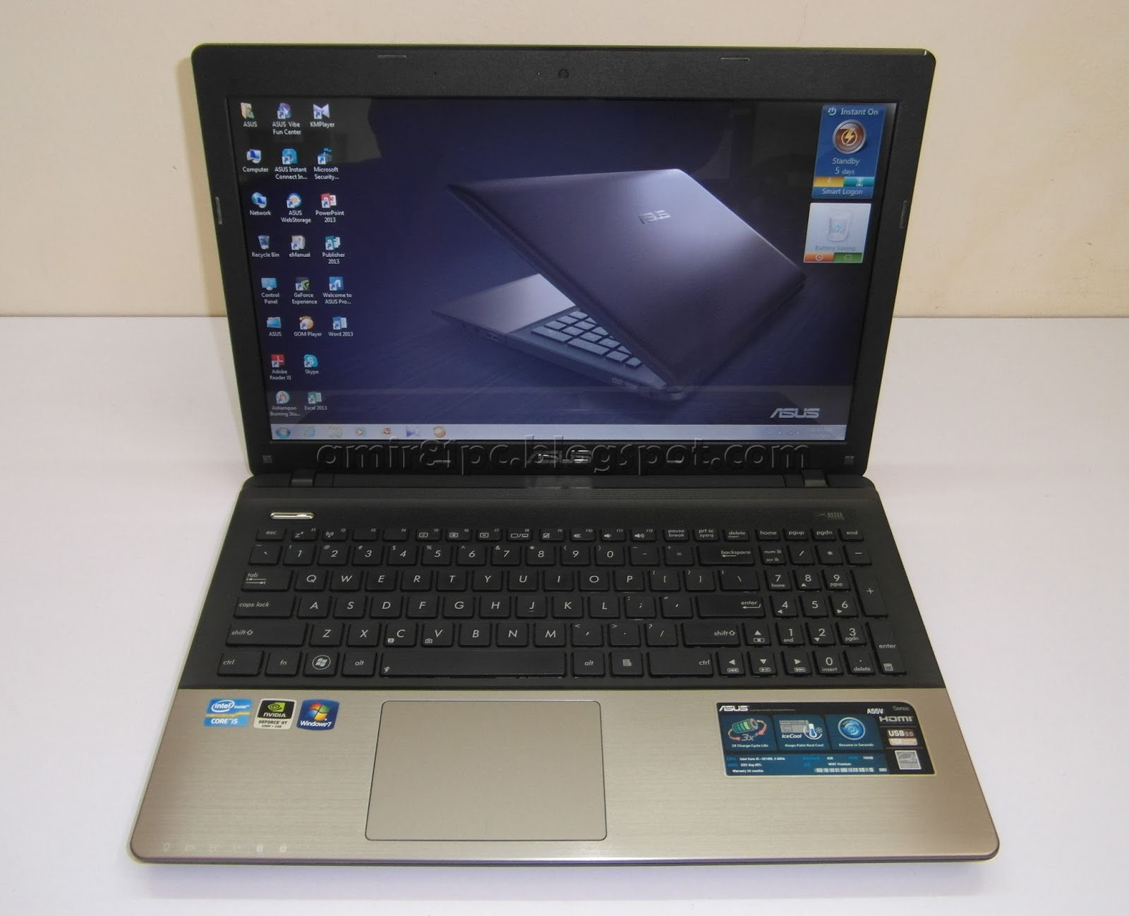 Three A Tech Computer Sales And Services Used Laptop Asus A55v