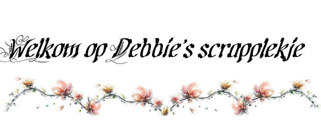 Debbie's scrapplekje