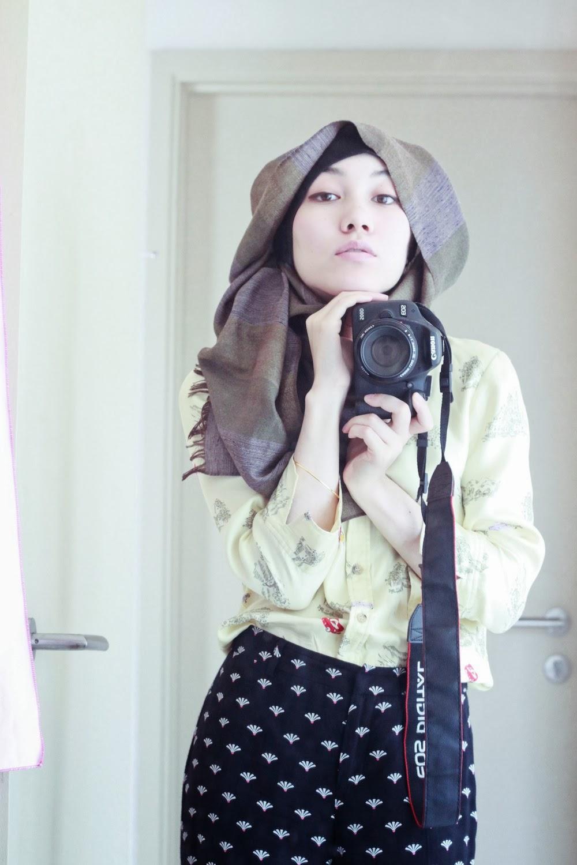 Gaya Hijab Antara Segi Empat Dan Pasmina Catatan Efi