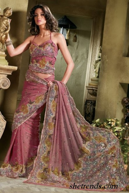 Latest Sari Blouse Designs 2012