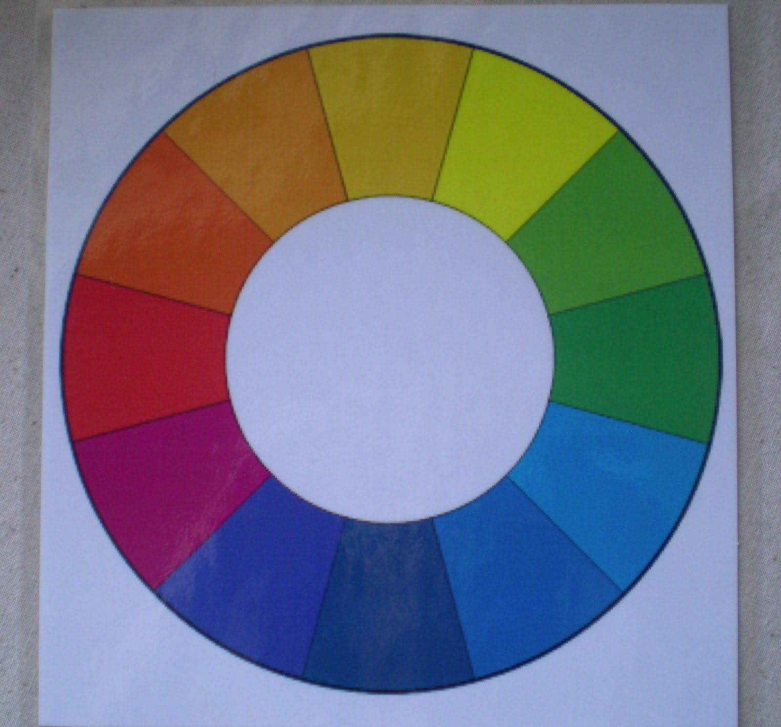 The creative beast my creative color challenge project for Creative color wheel
