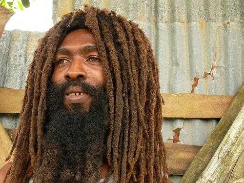 Rasta Man Taken From Trinidad Hair Website