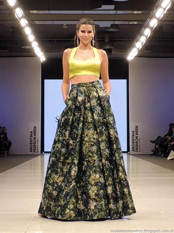 Susana Ortiz vetidos verano 2015. Moda primavera verano 2015.