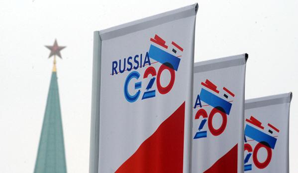 Manifestos contra G20 ocorrem às escondidas na Rússia.